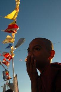 Young monk, Adam's Peak, Sri Lanka